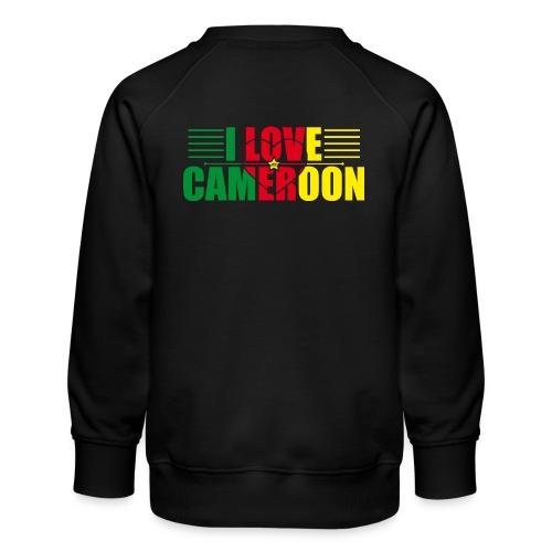 love cameroun - Sweat ras-du-cou Premium Enfant