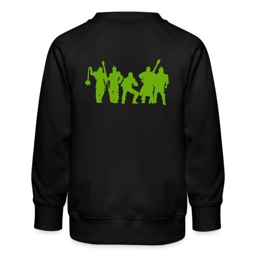 Jugger Schattenspieler gruen - Kinder Premium Pullover