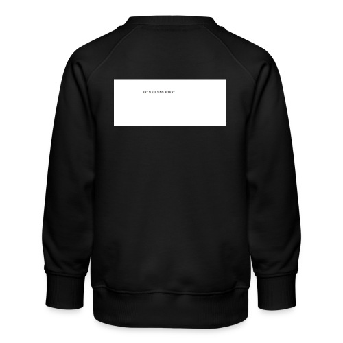 eat sleep sing - Kids' Premium Sweatshirt