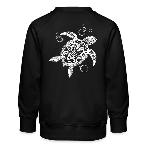 Watchful Turtle - Kids' Premium Sweatshirt