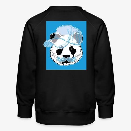 Panda - Cap - Mustache - Kinder Premium Pullover