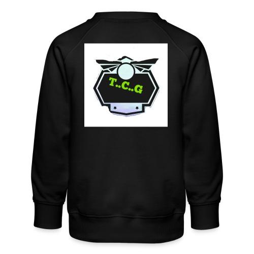 Cool gamer logo - Kids' Premium Sweatshirt