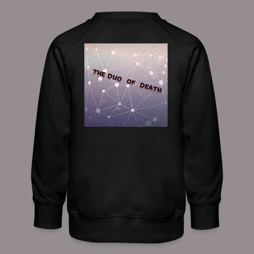 The duo of death logo - Kinderen premium sweater