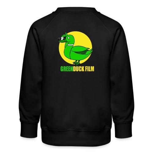 Greenduck Film In the Sun Logo - Børne premium sweatshirt