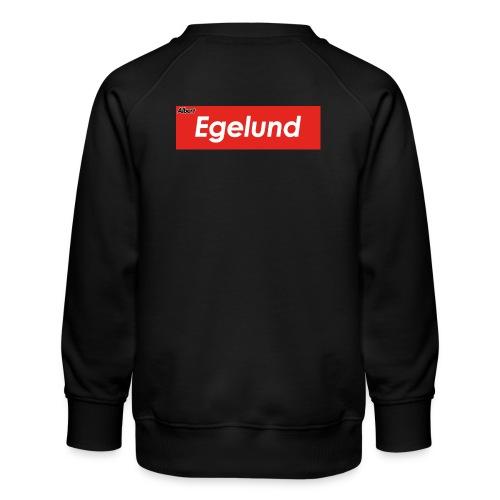 Albert Egelund Box Logo - Børne premium sweatshirt
