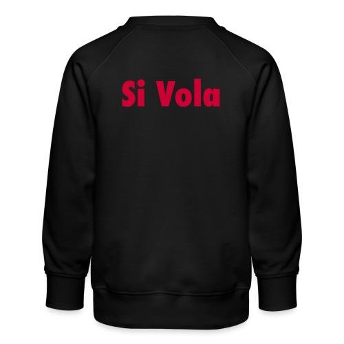 SiVola - Felpa premium da bambini
