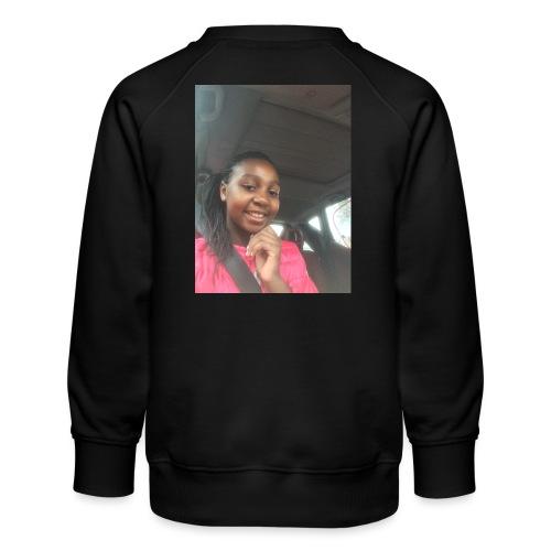 tee shirt personnalser par moi LeaFashonIndustri - Sweat ras-du-cou Premium Enfant