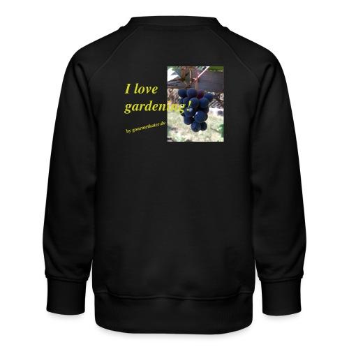 Weintraube - I love gardening - Kinder Premium Pullover