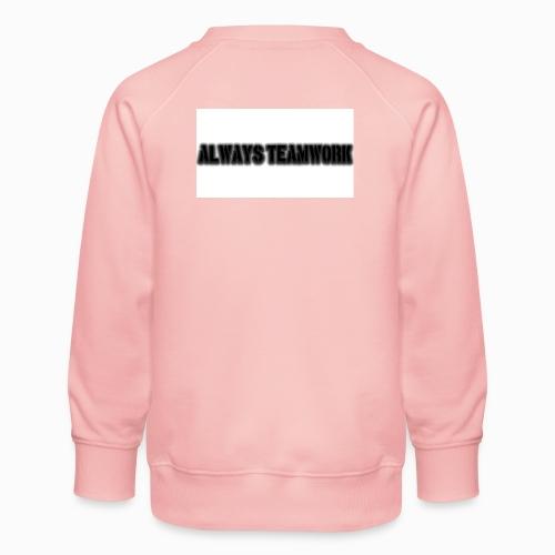 at team - Kinderen premium sweater