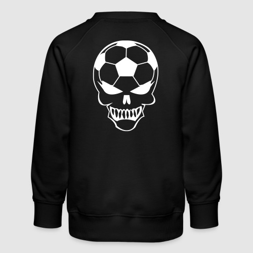 Fußball-Totenkopf - Kinder Premium Pullover