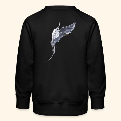 Weißschwanz Tropenvogel - Kinder Premium Pullover