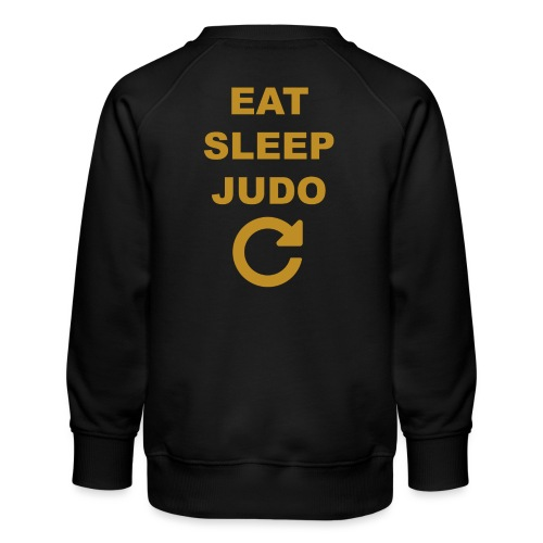 Eat sleep Judo repeat - Bluza dziecięca Premium