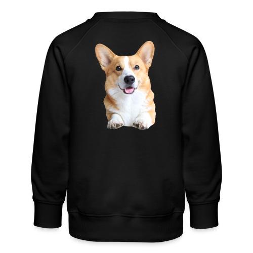 Topi the Corgi - Frontview - Kids' Premium Sweatshirt