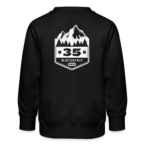 35 ✕ WINTERTRIP ✕ 2021 - Kinderen premium sweater