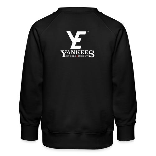 YE Logo White - Kids' Premium Sweatshirt