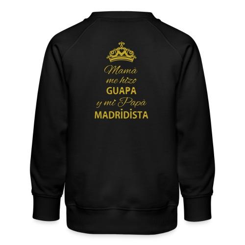 Guapa Madridista - Felpa premium da bambini