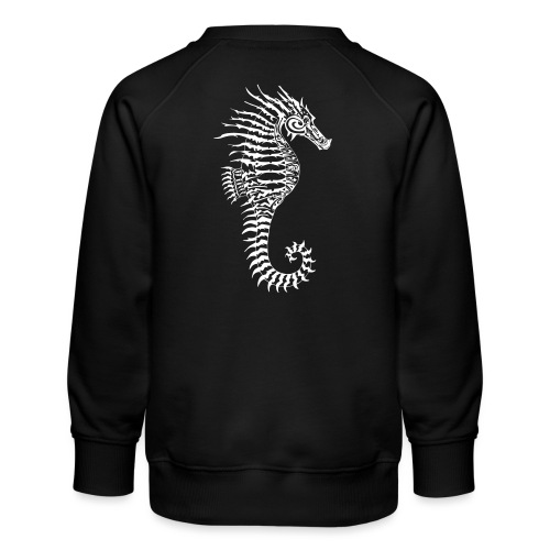 Alien Seahorse Invasion - Kids' Premium Sweatshirt
