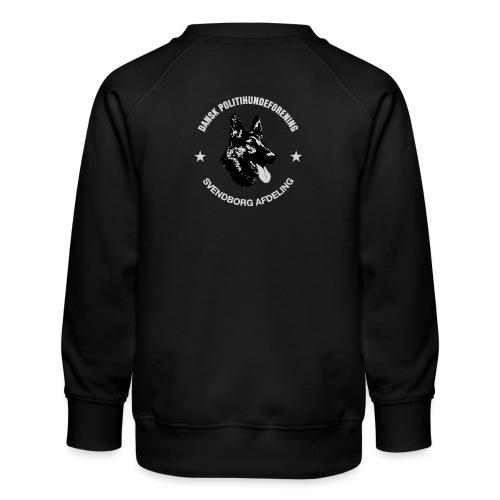 Svendborg PH hvid skrift - Børne premium sweatshirt