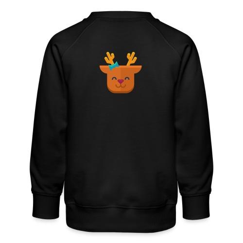 When Deers Smile by EmilyLife® - Kids' Premium Sweatshirt