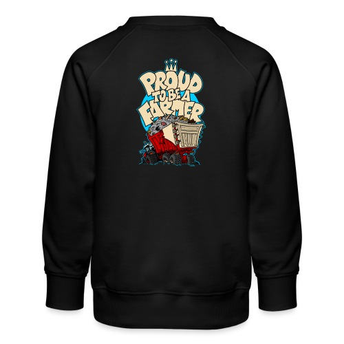 0956 proud to be a farmer PUIN - Kinderen premium sweater