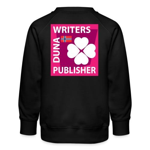 Duna Writers Publisher Pink - Premium-genser for barn