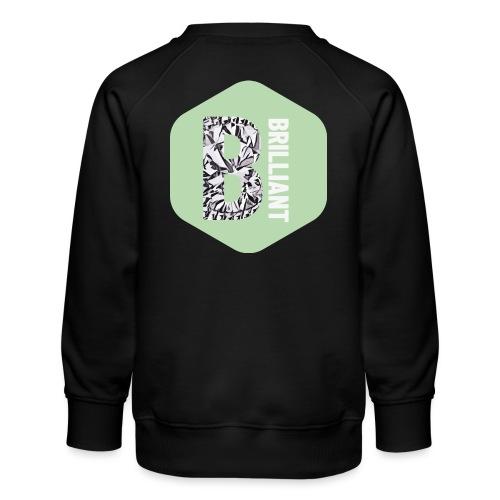 B brilliant green - Kinderen premium sweater
