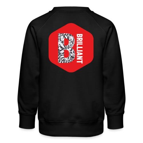 B brilliant red - Kinderen premium sweater