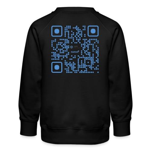QR Maidsafe.net - Kids' Premium Sweatshirt
