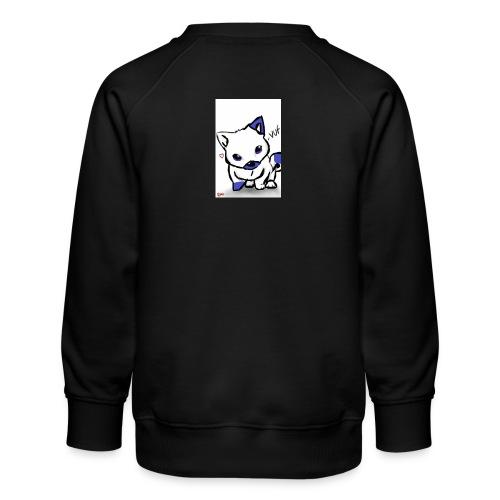 poka dot wolf - Kids' Premium Sweatshirt