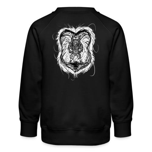 Horned Metalhead - Kids' Premium Sweatshirt