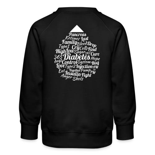 CURE DIABETES - Kids' Premium Sweatshirt