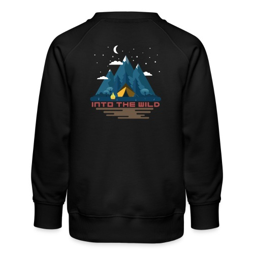 Into the wild - Sweat ras-du-cou Premium Enfant