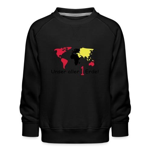 TIAN GREEN - 1 Erde - Kinder Premium Pullover