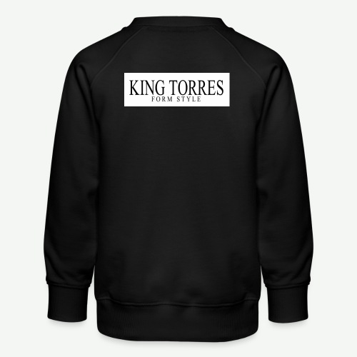 king torres - Sudadera premium para niños y niñas