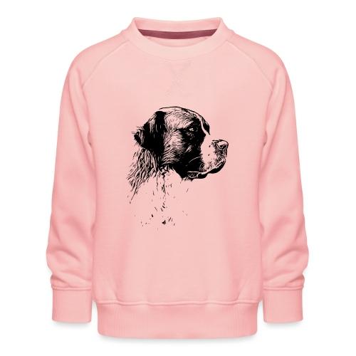 Bernhardiner Hunde Design Geschenkidee - Kinder Premium Pullover