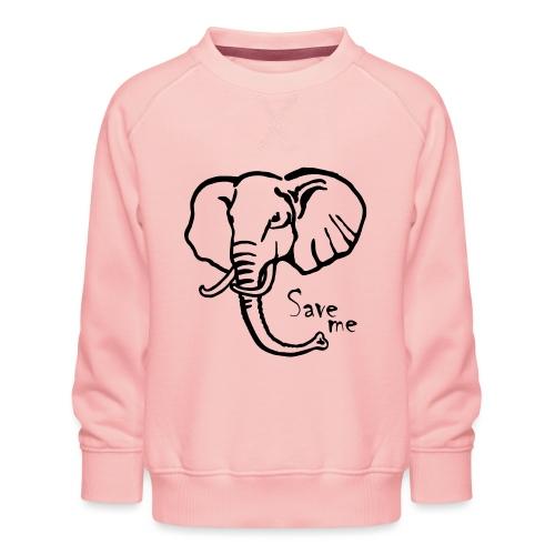 Afrika-Elefant I Save me - Kinder Premium Pullover