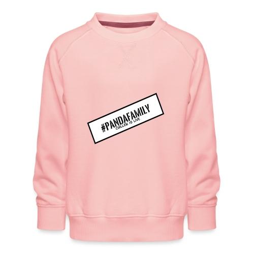 #PandaFamily [Balken] - Kinder Premium Pullover