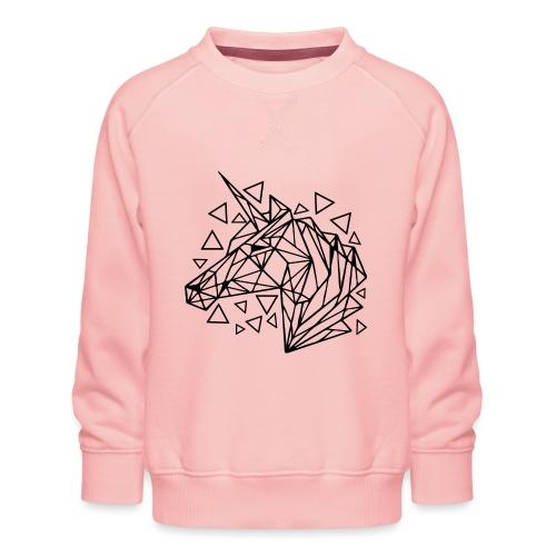 unicornio minimalista - Sudadera premium para niños y niñas