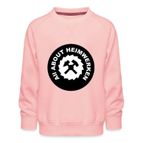 ALL ABOUT HEIMWERKEN - LOGO - Kinder Premium Pullover