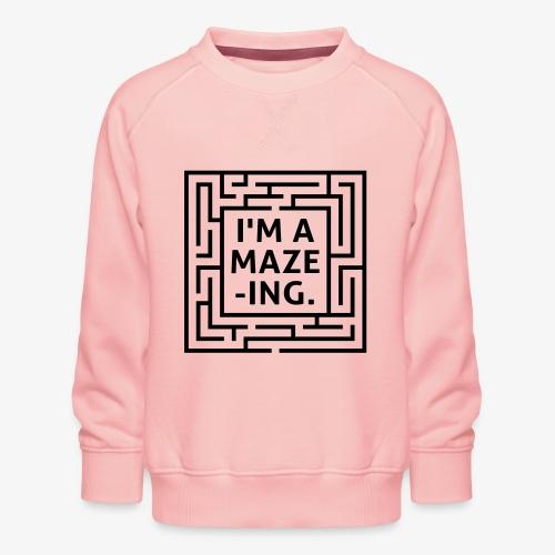A maze -ING. Die Ingenieurs-Persönlichkeit. - Kinder Premium Pullover