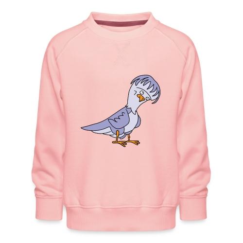 Taube von dodocomics - Kinder Premium Pullover
