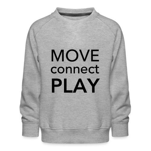 Move Connect Play - AcroYoga International - Kids' Premium Sweatshirt