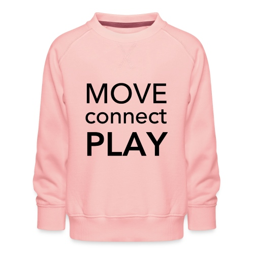 Move Connect Play - AcroYoga International - Kids' Premium Sweatshirt