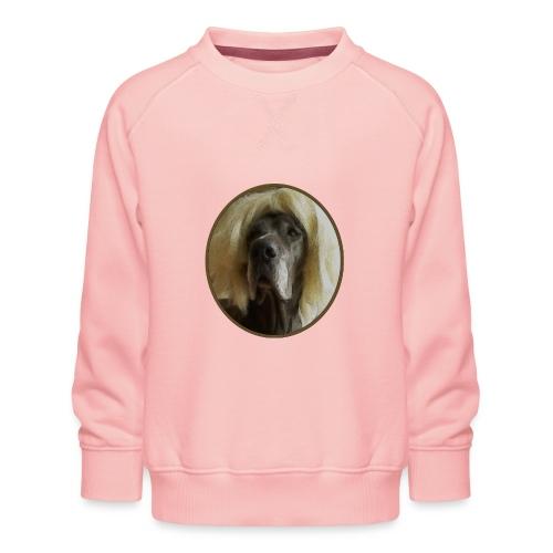 D O G G E mit Perücke - Kinder Premium Pullover