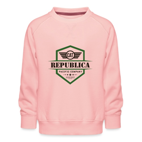 REPUBLICA CATALANA color - Sudadera premium para niños y niñas