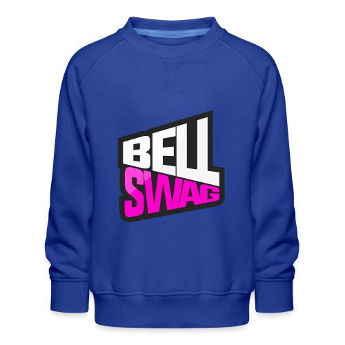 Bellswag logo transparent large - Kids' Premium Sweatshirt