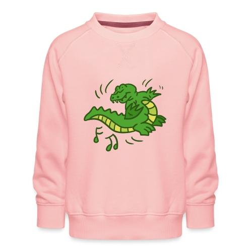 dancing crocodile - Premiumtröja barn