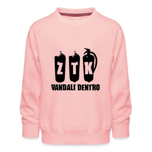 ZTK Vandali Dentro Morphing 1 - Kids' Premium Sweatshirt