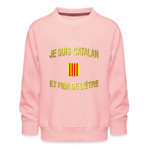 Tee-Shirt supporter du pays CATALAN - Sweat ras-du-cou Premium Enfant
