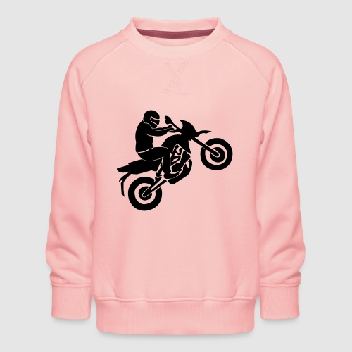 Motorradfahrer - Kinder Premium Pullover